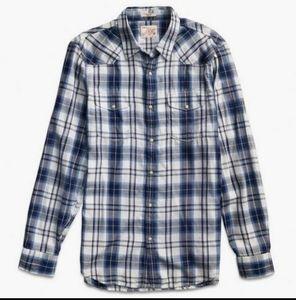 Lucky Brand Santa Fe Men's Flannel Shirt XXL